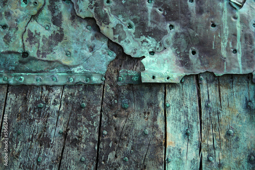 Oxidized copper