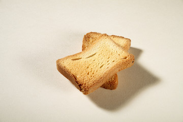 two slices toast