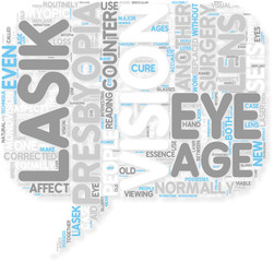 Concept of LASIK  a Cure for Blurry Vision