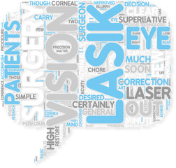 Concept of LASIK Vision Correction  Throw Away Those Eyeglass