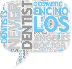 Concept of Los Angeles Dentist