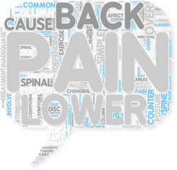 Concept of Lower back pain Symptoms and Remedies