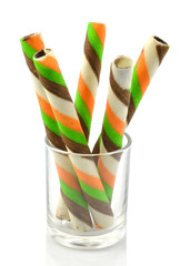 Wafer roll sticks