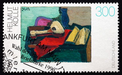 Postage stamp Germany 1996 Still Life, by Helmut Kolle