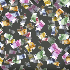Euro. Vector format