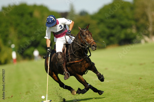 canvas print picture Polo Open de france