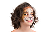 Face painting, leopard