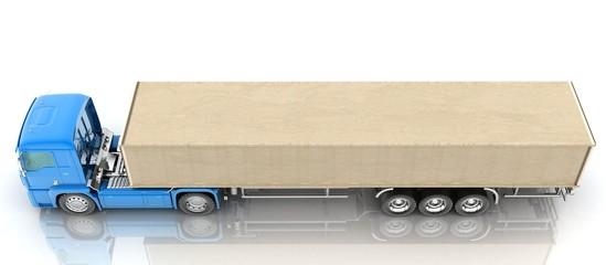 cargo transportation, cardboard