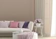 Sunny living room - 59672811