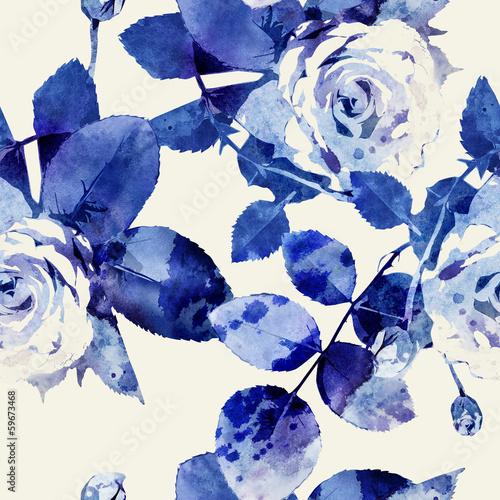 Roses Seamless Pattern