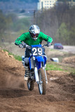 Motocross - a player in motion