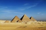Fototapeta Die Pyramiden von Gizeh