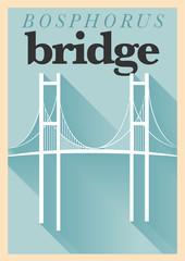 Vintage Bridge Poster