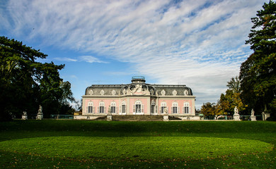 Benrath Palace in Dusseldorf, Germany