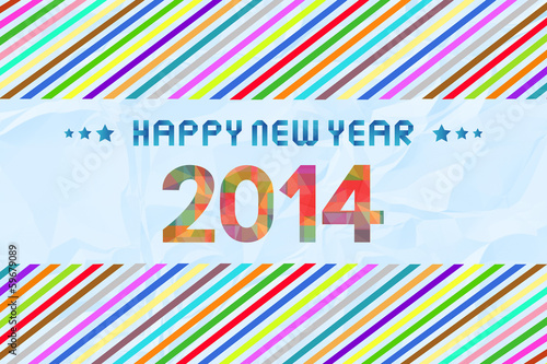 Happy new year 2014 card57
