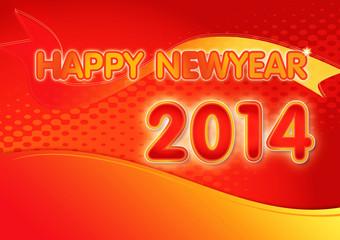 Happy newyear2014 graphic