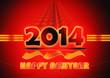Happy newyear2014 ,new year 2014 logo, graphic