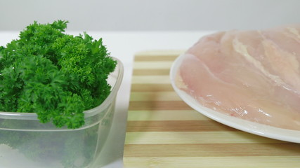 DOLLY: Raw chicken breast fillets
