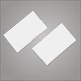 Business cards blank mockup - template poster