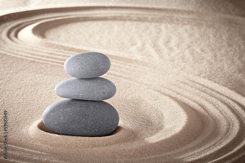spa zen meditation stones background - 59681849