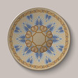 Dish with an ornament in the ancient Greek style