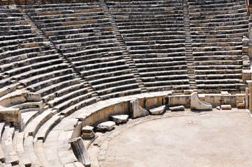 Stadium at antic city of Hierapolis