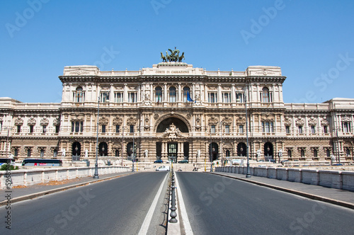 The Palace of Justice in Rome. Italy.
