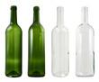 Leinwandbild Motiv Glass bottle isolated