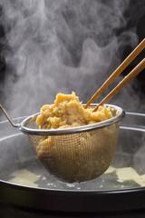 米味噌をとぐ