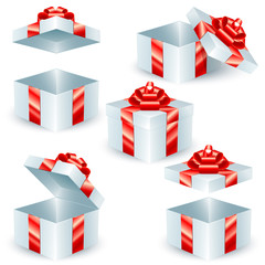 Square Gift Boxes; eps8