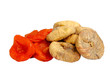 Dried figs and apricots