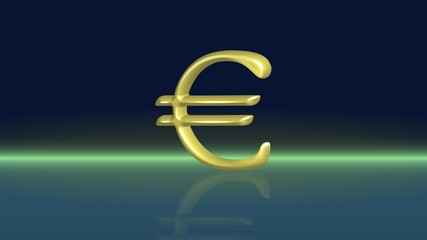 A movement of the euro model. Seamless video