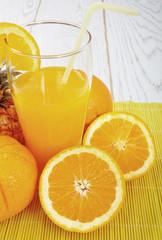 Orange Juice - Retro Look