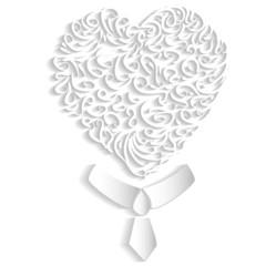 Mr. white heart