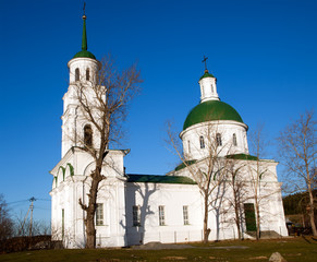 Church of the Holy Apostles Peter and Paul. Chernoistochinsk