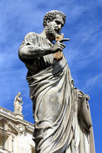 Leinwandbild Motiv Rome, Saint Peter on St. Peter's Square