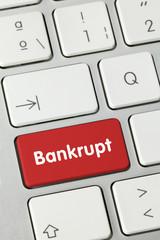 Bankrupt. Keyboard