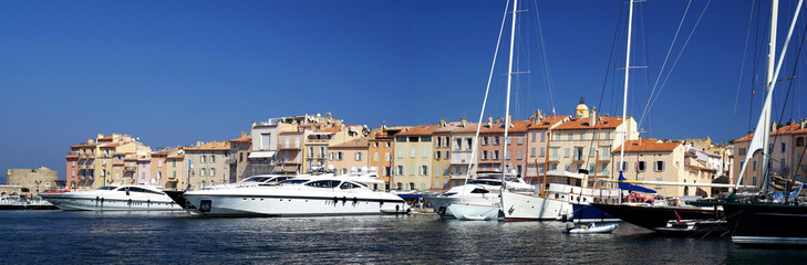 Port of Saint-Tropez, French Riviera