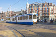 Tram driving in Amsterdam the Netherlands - 59701450