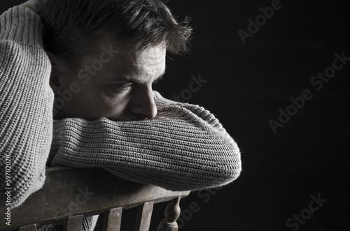 depressed man - 59702020