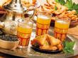 Thé à la menthe orientale