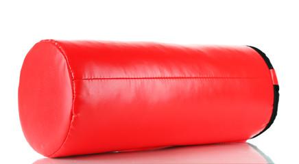 Punching bag, isolated on white