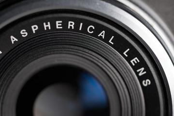 Vintage photo camera details