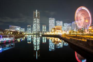 Yokohama Night Japan