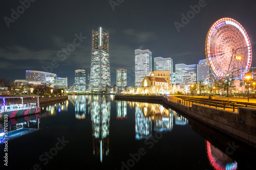 Yokohama Night Japan