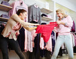 Shopping violence