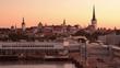 Tallinn, Estonia Skyline from the Port