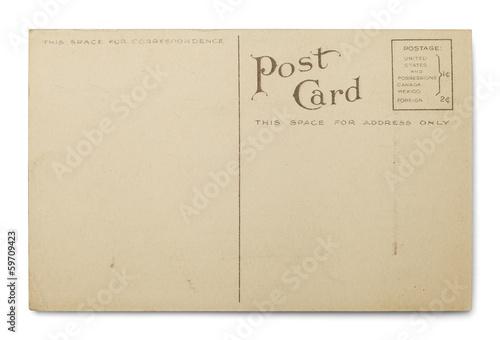 Poster Blank Postcard