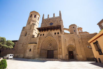 Cathedral of Saint Mary Huesca. Aragon