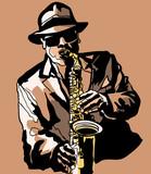 Saxophone player - 59711086